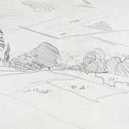 Burchfield - Drawing - Untitled