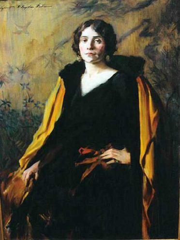 Portrait of Madame Marie Conde by Elizabeth Taylor Watson