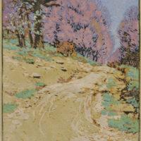 Gustave Baumann - Print - The Ridge Road