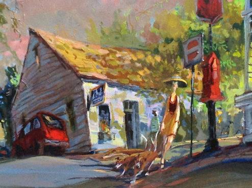 John Devaney - Oil Painting - India-Street-detail_opt