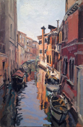 George Nick - Oil Painting - Venice