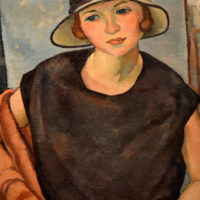 Wilson - Oil - Untitled Portrait of a Woman